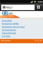 Sony ST25i Xperia U - Internet - Internetten - Stap 11