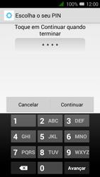 Alcatel Pixi 3 - Segurança - Como ativar o código de bloqueio do ecrã -  8