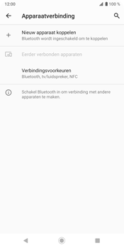 Sony Xperia XZ3 - Bluetooth - headset, carkit verbinding - Stap 5