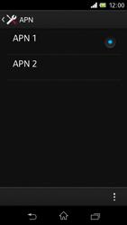 Sony C1905 Xperia M - MMS - Configuration manuelle - Étape 17