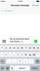 Apple iPhone SE - iOS 10 - MMS - envoi d'images - Étape 7