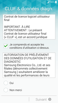Samsung Galaxy Note 4 - Premiers pas - Créer un compte - Étape 5