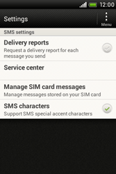 HTC A320e Desire C - SMS - Manual configuration - Step 5