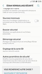 Samsung Galaxy J5 (2017) - Sécuriser votre mobile - Personnaliser le code PIN de votre carte SIM - Étape 5