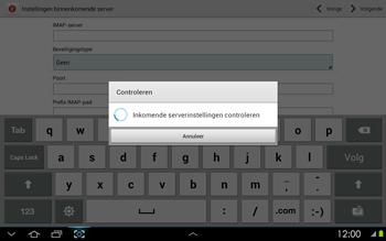 Samsung P5100 Galaxy Tab 2 10-1 - E-mail - Handmatig instellen - Stap 10