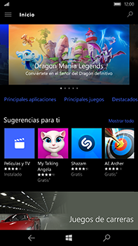 Microsoft Lumia 950 XL - Aplicaciones - Tienda de aplicaciones - Paso 15