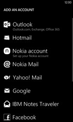 Nokia Lumia 625 - E-mail - Manual configuration - Step 6