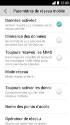 Huawei Ascend Y530 - Internet - Activer ou désactiver - Étape 4