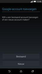 HTC One M8 - Applicaties - Account aanmaken - Stap 4