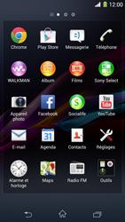 Sony Xpéria Z1 - E-mails - Ajouter ou modifier un compte e-mail - Étape 3