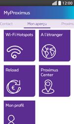 LG L70 - Applications - MyProximus - Étape 19