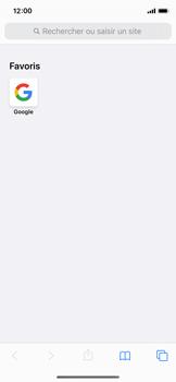 Apple iPhone X - iOS 13 - Internet - navigation sur Internet - Étape 12