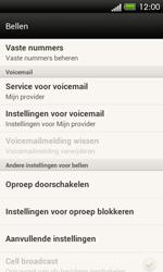HTC C525u One SV - Voicemail - handmatig instellen - Stap 5