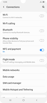 Samsung Galaxy A50 - Network - Enable 4G/LTE - Step 5