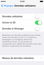 Apple iPhone 4 S iOS 9 - Internet - Activer ou désactiver - Étape 5
