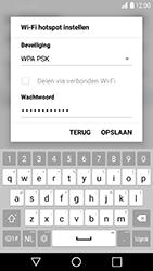 LG K10 (2017) (LG-M250n) - WiFi - Mobiele hotspot instellen - Stap 7