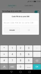 Huawei P9 Lite - Sécuriser votre mobile - Personnaliser le code PIN de votre carte SIM - Étape 8