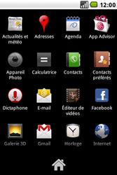 LG GW620 - E-mail - envoyer un e-mail - Étape 2