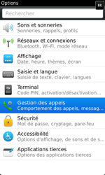 BlackBerry 9860 Torch - Messagerie vocale - Configuration manuelle - Étape 4
