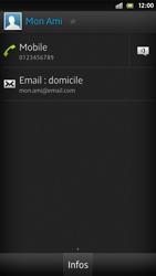 Sony Xpéria S - Contact, Appels, SMS/MMS - Ajouter un contact - Étape 14
