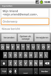 Alcatel OT-991 Smart - E-mail - hoe te versturen - Stap 6