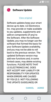 LG H870 G6 - Network - Installing software updates - Step 8