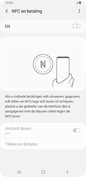 Samsung galaxy-s9-plus-sm-g965f-android-pie - NFC - NFC activeren - Stap 6