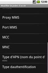 Samsung I7500 Galaxy - MMS - Configuration manuelle - Étape 11