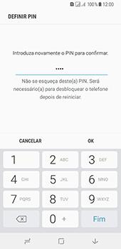 Samsung Galaxy A8 (2018) - Segurança - Como ativar o código de bloqueio do ecrã -  10