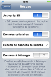 Apple iPhone 4 - Internet - configuration manuelle - Étape 6