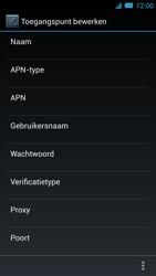 Acer Liquid S2 - Internet - Handmatig instellen - Stap 10