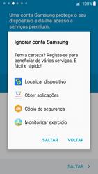 Samsung Galaxy S6 - Primeiros passos - Como ligar o telemóvel pela primeira vez -  17