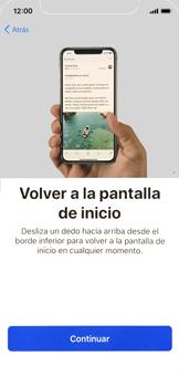 Apple iPhone X - Primeros pasos - Activar el equipo - Paso 25