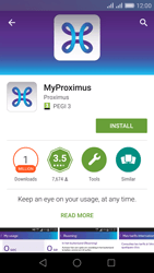 Huawei Honor 5X - Applications - MyProximus - Step 6