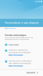Samsung Galaxy S7 Edge - Android Nougat - Primeiros passos - Como ligar o telemóvel pela primeira vez -  20