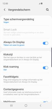 Samsung Galaxy S10e - Beveiliging en privacy - automatische schermblokkering instellen - Stap 5