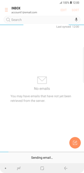 Samsung Galaxy Note9 - E-mail - Sending emails - Step 20