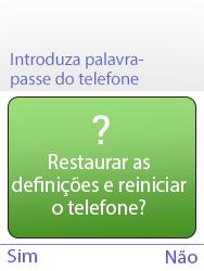 NOS Hakan - Repor definições - Como repor definições de fábrica do telemóvel -  8