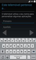 Samsung Galaxy Core II - Primeiros passos - Como ligar o telemóvel pela primeira vez -  13