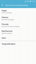 Samsung Galaxy S7 - Beveiliging en ouderlijk toezicht - Toegangscode aanpassen - Stap 8