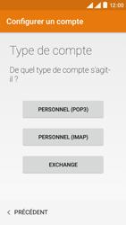 Wiko Rainbow Lite 4G - E-mails - Ajouter ou modifier un compte e-mail - Étape 6