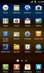 Samsung I9070 Galaxy S Advance - E-mail - Sending emails - Step 3