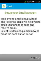 Alcatel Pixi 3 - 3.5 - Email - Manual configuration - Step 4
