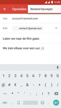 OnePlus 2 - E-mail - Hoe te versturen - Stap 10