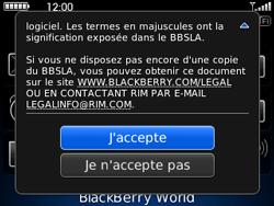 BlackBerry curve 3G - Applications - Télécharger une application - Étape 4