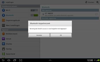 Samsung N8020 Galaxy Note 10-1 LTE - Bluetooth - Headset, carkit verbinding - Stap 6