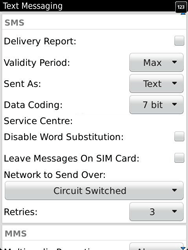 BlackBerry 9810 Torch - SMS - Manual configuration - Step 6
