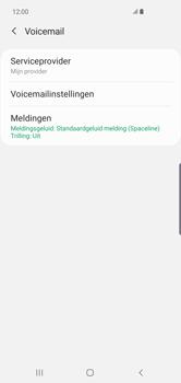 Samsung Galaxy S10 Plus - Voicemail - handmatig instellen - Stap 10