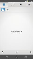 Sony Xpéria Z1 - Contact, Appels, SMS/MMS - Ajouter un contact - Étape 5