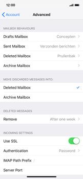 Apple iPhone X - iOS 12 - E-mail - Manual configuration - Step 25
